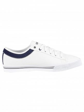 K-Swiss White/Navy/Stringray Bridgeport II Trainers