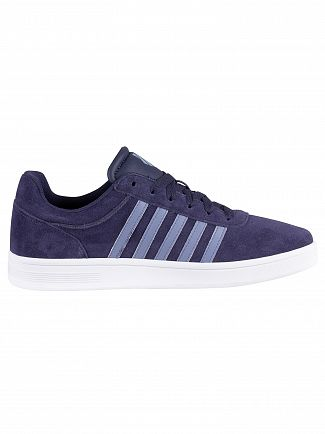 K-Swiss Navy/White Court Cheswick Suede Traienrs