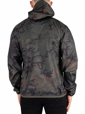 K-Way Dark Camouflage Le Vrai 3.0 Leon Graphic Jacket