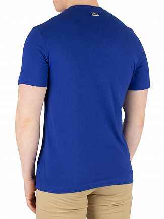 Lacoste Blue Marine Graphic T-Shirt