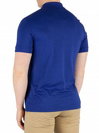 Lacoste Blue Marine Logo Poloshirt