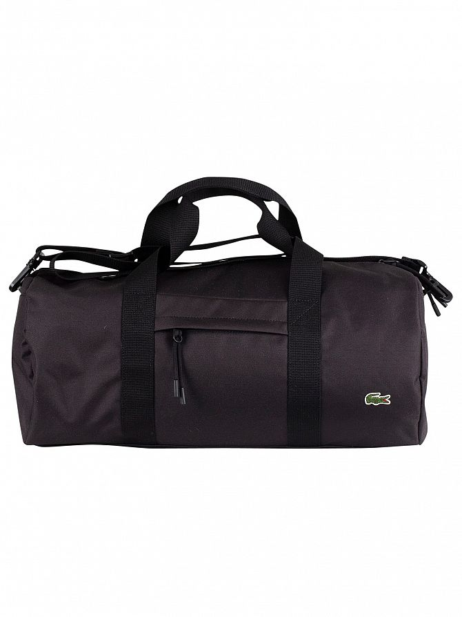 Lacoste Black Roll Bag