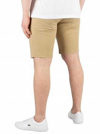 Lacoste Beige Slim fit Chino Shorts