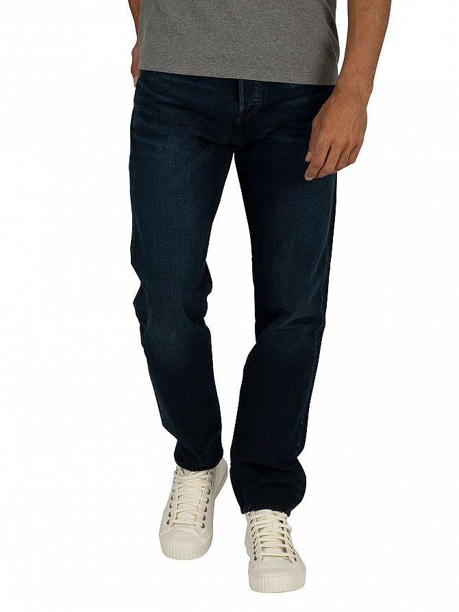 Levi's Dark Hours 501 Slim Taper Jeans