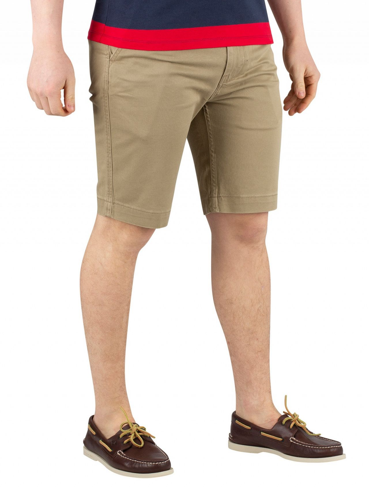 a4c2977f Levi's Lead Gray Soft 502 True Chino Shorts | Standout