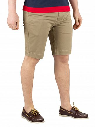 Levi's Lead Gray Soft 502 True Chino Shorts