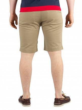 Levi's Lead Gray Soft 502 True Chino Shorts