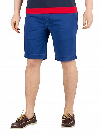 Levi's Spirit Blue Soft 502 True Chino Shorts