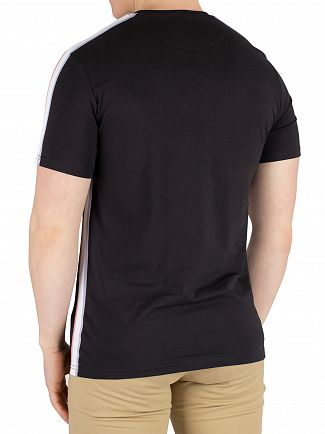 Lyle & Scott Black Side Stripe T-Shirt