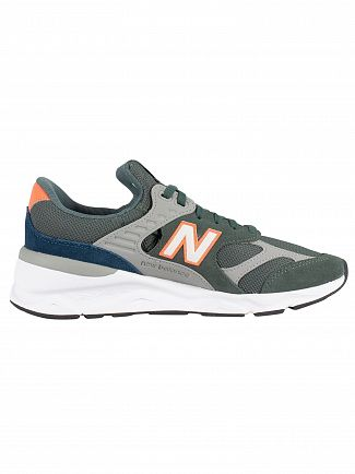 New Balance Faded Rosin/Sunrise X-90 Suede Trainers