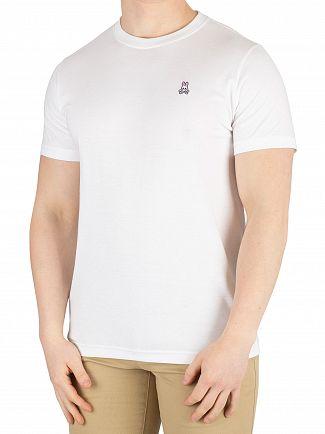 Psycho Bunny White Crew Neck T-Shirt