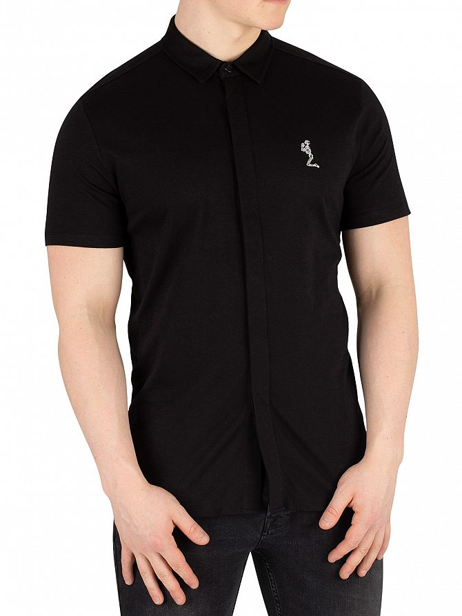 Religion Black Magnus Shortsleeved Shirt