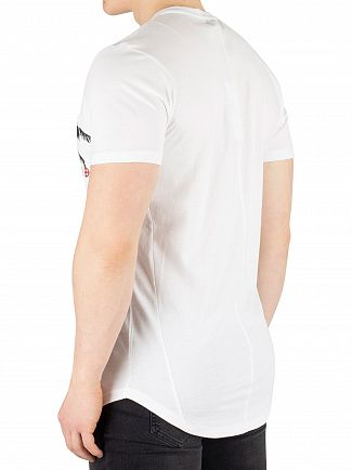 Religion White Pocket Palm T-Shirt