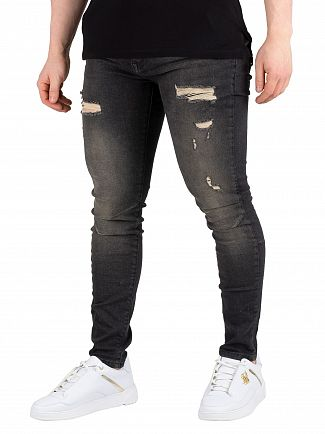 Religion Black Ripper Rel 7 Jeans