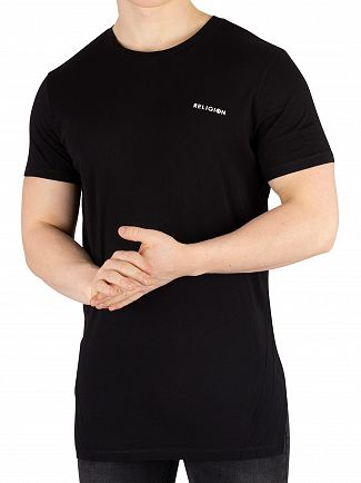 Religion Black Short Albion T-Shirt