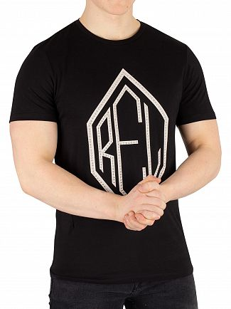 Religion Black Stud T-Shirt