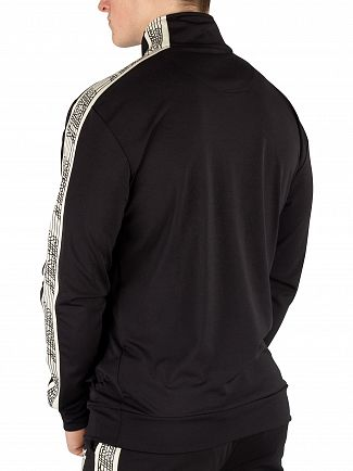 Sik Silk Black Quarter Zip Track Top