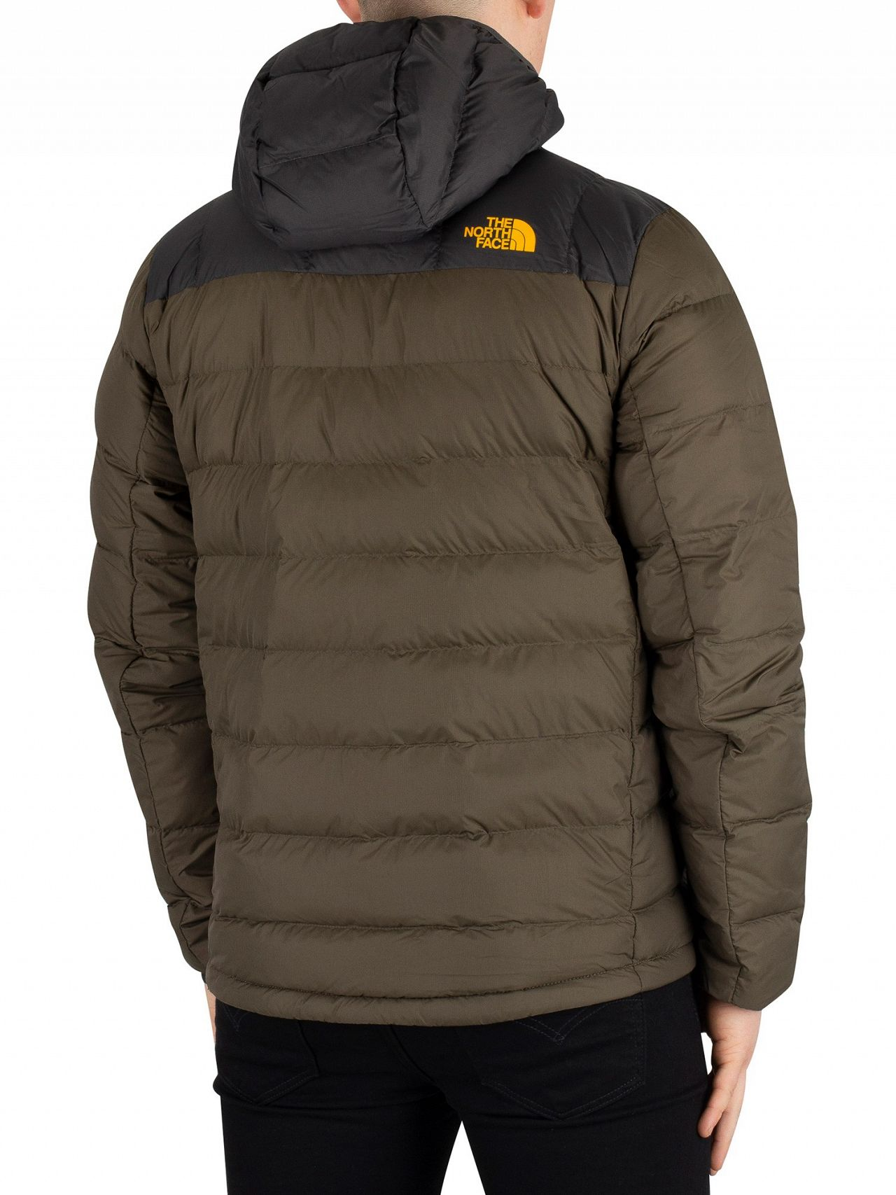 ab65d0cb The North Face New Taupe Green/Asphalt Grey M La Paz Hooded Jacket ...