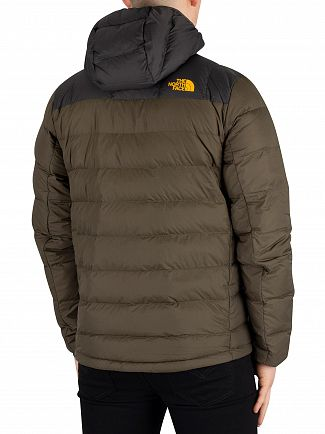 The North Face New Taupe Green/Asphalt Grey M La Paz Hooded Jacket