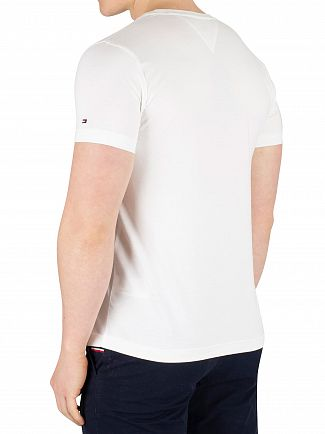 Tommy Hilfiger Bright White Box Print T-Shirt