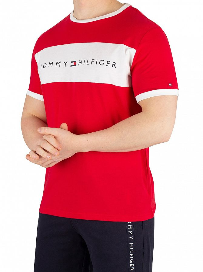 Tommy Hilfiger Tango Red Flag Graphic T-Shirt