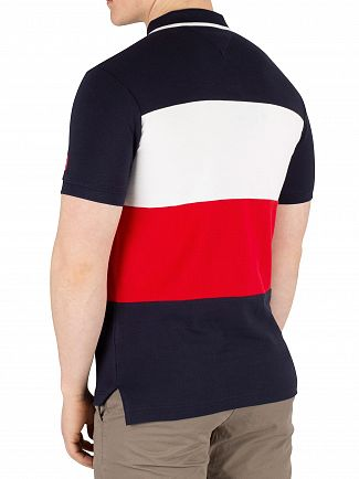 Tommy Hilfiger Sky Captain Icon Colourblock Slim Poloshirt