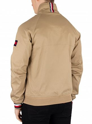 Tommy Hilfiger Dark Dune Icon Cotton Harrington Jacket