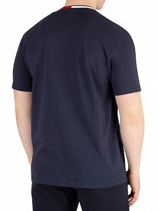 Tommy Hilfiger Navy Blazer Logo Collar T-Shirt