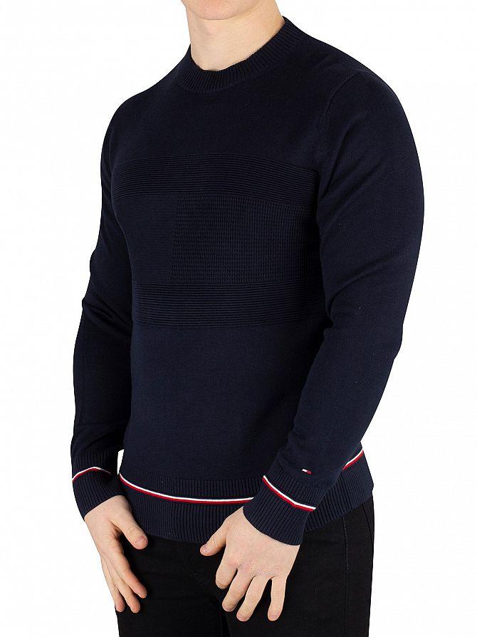 Tommy Hilfiger Sky Captain Structured Flag Sweatshirt