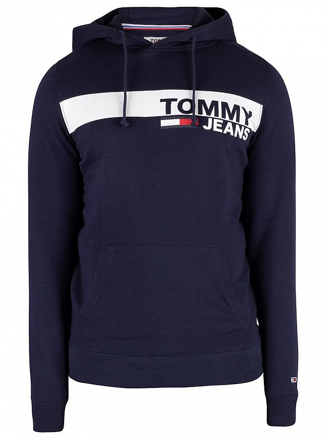 81f421e6 Tommy Jeans Men's Essential Graphic Pullover Hoodie, Blue | eBay