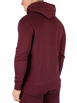 11 Degrees Ruby Marl Core Pullover Hoodie
