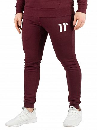 11 Degrees Ruby Marl Core Skinny Joggers