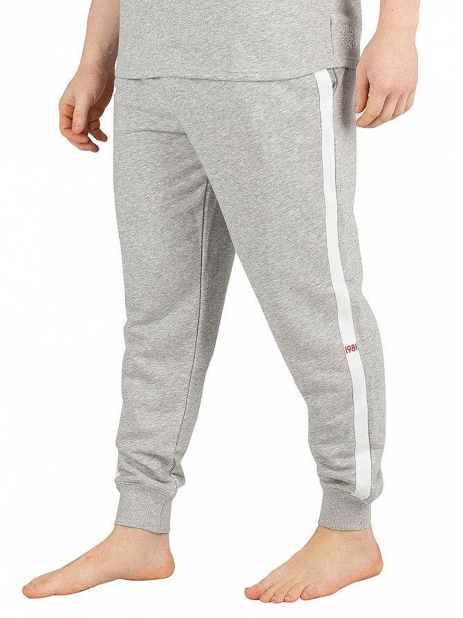 Calvin Klein Grey Heather Logo Joggers