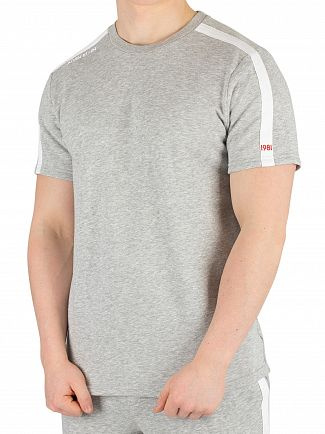 Calvin Klein Grey Heather Logo T-Shirt