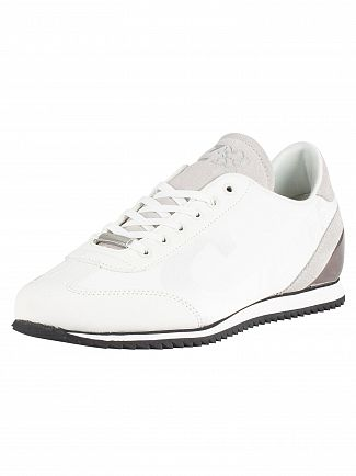 Cruyff White/Silver Ultra Trainers
