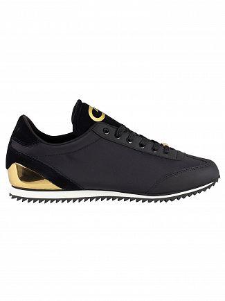 Cruyff Black/Gold Ultra Trainers