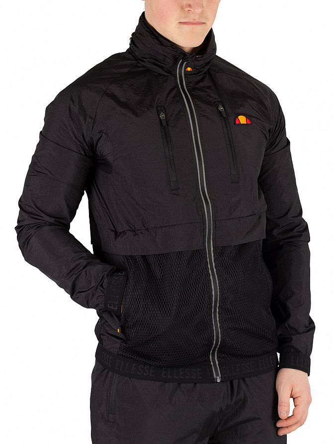 Ellesse Black Acero Track Jacket