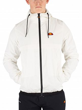 Ellesse White Calimera Reflective Jacket