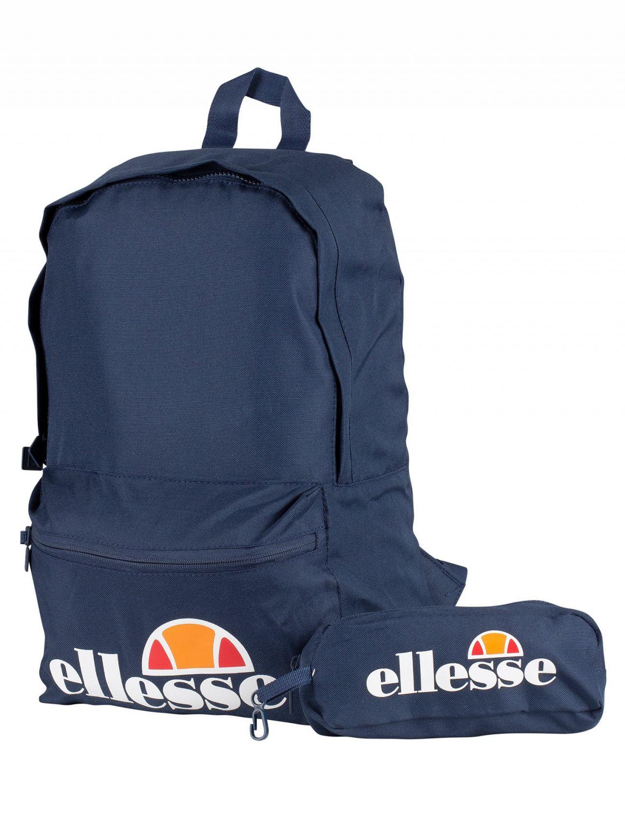 Ellesse Navy Rolby Backpack   Pencil Case 9558dfc4af33e