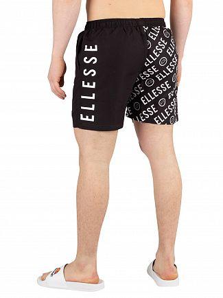 Ellesse Black Severo Swimshorts
