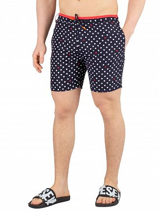 Scotch & Soda Navy Bright Swimshorts