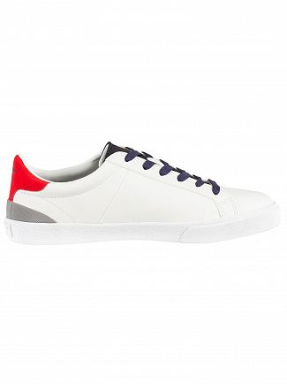 Superdry Optic White/Dark Navy/State Vintage Court Leather Trainers