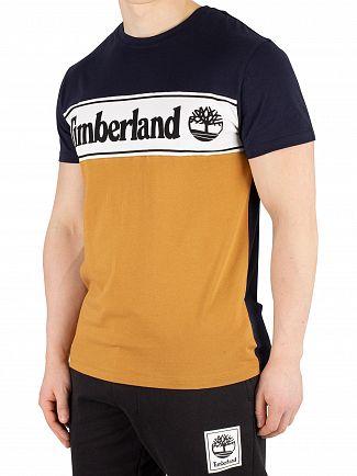 Timberland Dark Sapphire Cut & Sew T-Shirt