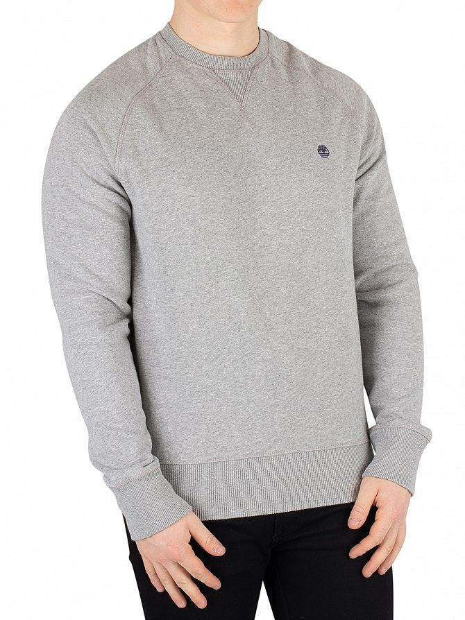 Timberland Medium Grey Heather Exeter River Sweatshirt