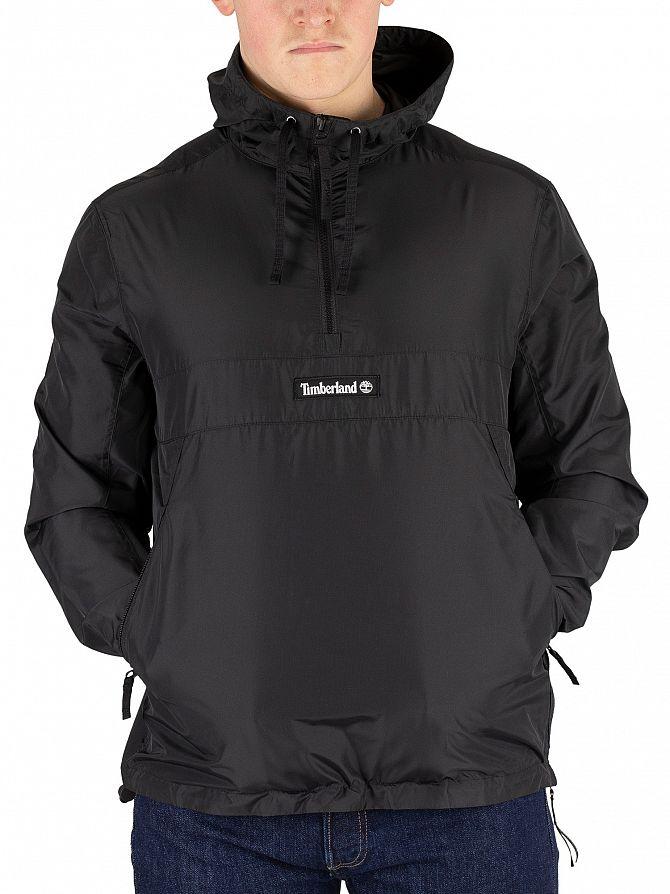 Timberland Black Funnel Neck Pullover Jacket