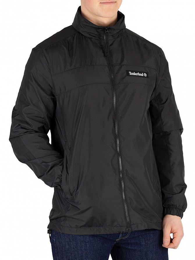 Timberland Black Hooded Full Zip Jacket