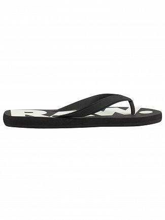 G-Star Black/White Dend Flip Flops