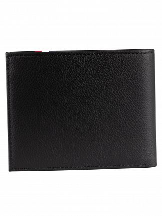 Tommy Hilfiger Black Corporate Mini Wallet