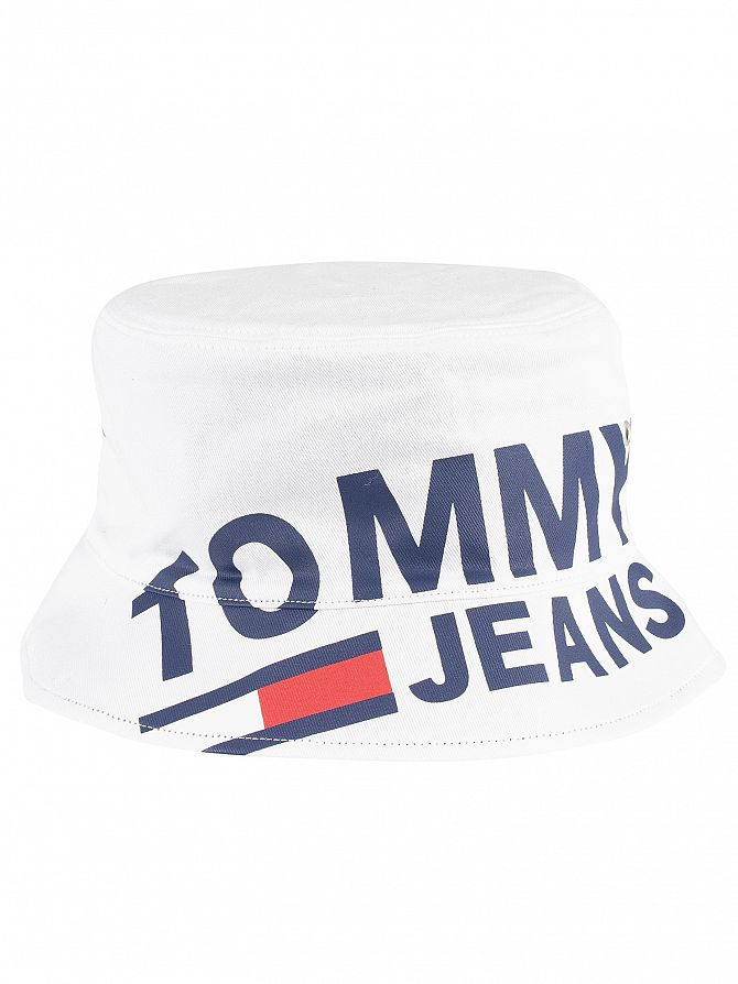 7e15544d1ed Tommy Jeans Men s Logo Reversible Bucket Hat