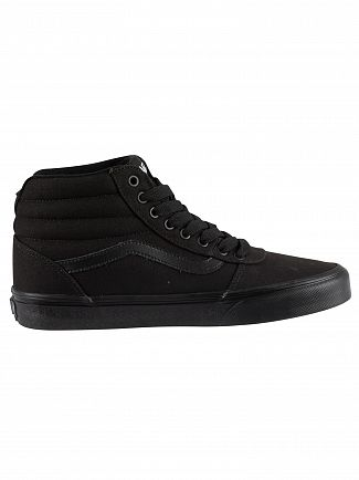 Vans Black/Black Ward Hi Trainers